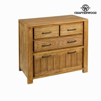 Chicago dresser table - Square Collection by Craften Wood