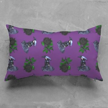 gothic girl rose purple p