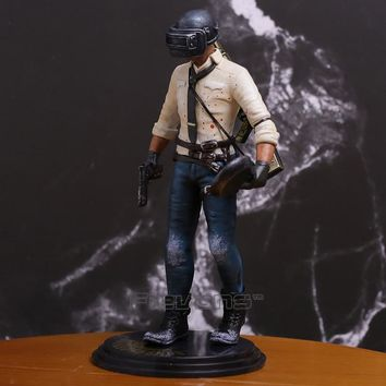 PUBG Game Player Unknown Battlegrounds WINNER CHICKEN DINNER  PVC Figure Collectible Model Toy