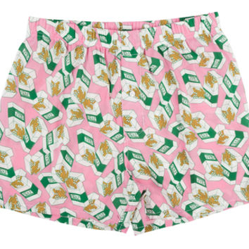 CIGARETTE BOXERS PINK