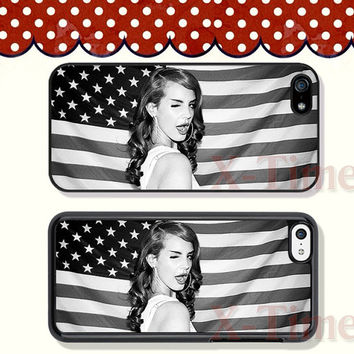 Lana Del Rey, iPhone 5 case iPhone 5c case iPhone 5s case iPhone 4 case iPhone 4s case, Samsung Galaxy S3 \S4 Case, Phone case --X50699