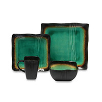 Galaxy Jade Square Dinnerware