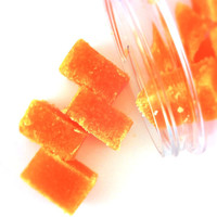Sugar Scrub Cubes - Orange Sunshine - 8 ounce Jar