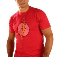 The Flash Lightning Bolt Faded Logo T-shirt