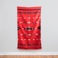 Antique Red Navajo Blanket