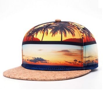 Palm Tree Hip-hop Baseball Cap Hat
