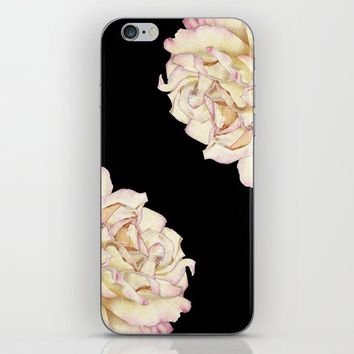 Roses - Lights the Dark iPhone Skin by drawingsbylam