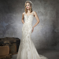 Justin Alexander 8652 Mermaid Wedding Dress