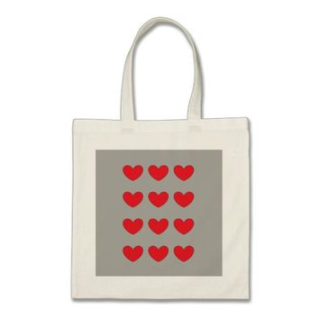 red heart budget tote
