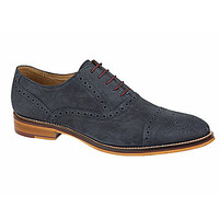 Johnston & Murphy Men's Conard Cap-Toe Oxfords - Navy