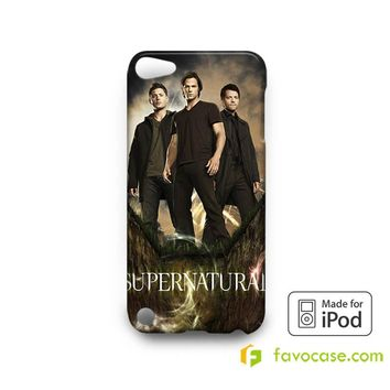 SUPERNATURAL Sam Dean Winchester  iPod Touch 4 5 6 Case