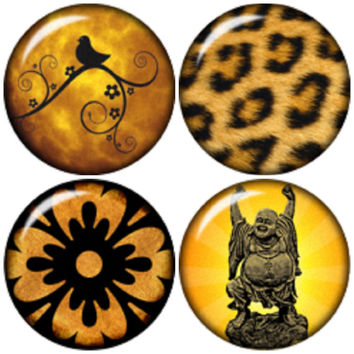 """Chunk Charm """"20mm 4 Pack"""" snap button fit Noosa Ginger snap Bracelet"""