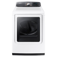 DV8060 7.4 cu. ft. Large Capacity Electric Front Load Dryer (White)