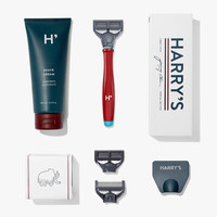 Harry's Shave Kit in Red