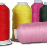 Polyester Sewing Thread - 600m - Color 101 - WHITE - 80 Colors Available - Threadart