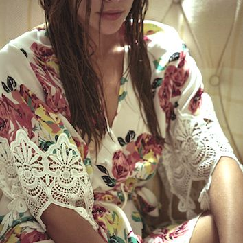 Botanical Fox Robe | Stone Cold Fox