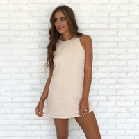 Cross My Heart Dress In Cream