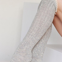 Mac Boot Socks - Light Grey
