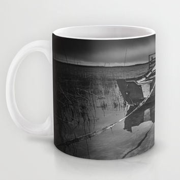 On the wrong side of the lake 8 Mug by HappyMelvin