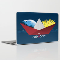 FishNChips Laptop & iPad Skin by Matt Irving