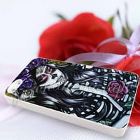 Floral Sugar Skull Day of the Dead - For iPhone 4/4s, iPhone 5/5S/5C, Samsung S3 i9300, Samsung S4 i9500 Hard Case