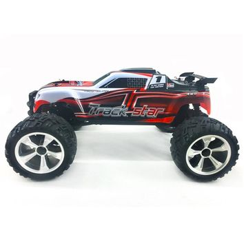 HG P104 1/10 2.4G 4WD 25km/h Rc Car Knight 550 Brushed Big Foot Off-road Truck RTR Toy Racing Radio Control Christmas Gift Boys