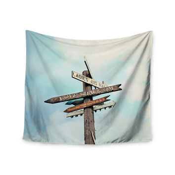 "Sylvia Cook ""Love Shack"" Wall Tapestry"