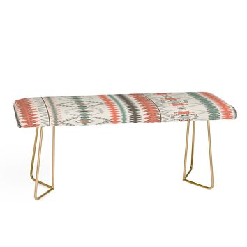 BOHO BLANKET Bench by Zoe Wodarz