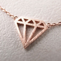 Diamonds Are a Girl's Best Friend Necklace