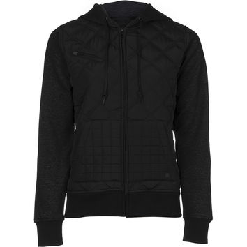 Hurley Rocky Full-Zip Hoodie - Women's Black,