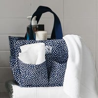 Essential Bath Beauty Set, Mini Dot, Navy