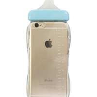 BABY BOTTLE BLUE IPHONE CASE