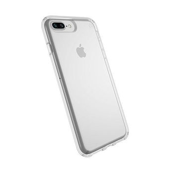 Speck Products Presidio Clear Case For Iphone 8 Plus (also Fits 7 Plus And 6s/6 Plus) Clear/clear
