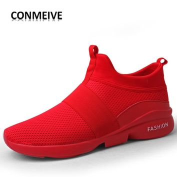 New Style Men's Fashion Breathable Mesh Training Sneakers