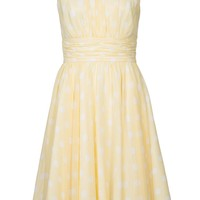 Swing Cocktail dress / Party dress - yellow - Zalando.co.uk