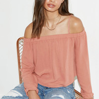 Kendall and Kylie Off-The-Shoulder Top at PacSun.com