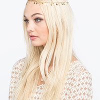 Full Tilt Mini Coins Head Chain Gold One Size For Women 26577862101