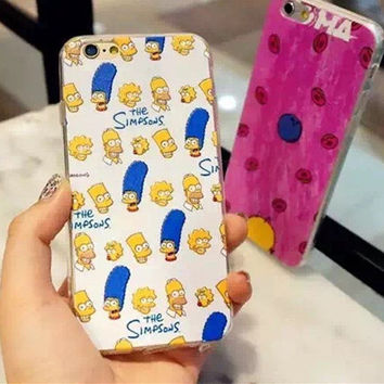 Iphone 6/6s Hot Sale Hot Deal On Sale Stylish Cute Iphone Apple Cartoons Soft Couple Phone Case [6034115329]