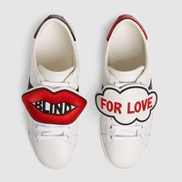 GUCCI Ace sneaker with removable patches-6
