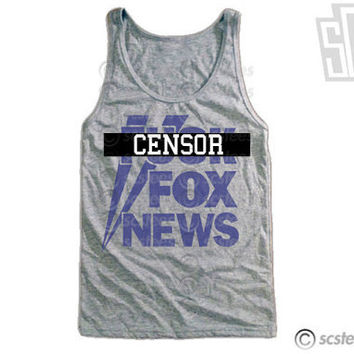 Fuck Fox News Tank Top x Singlet - mature