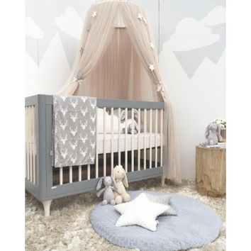 Kids Play House Tents Teepee Foldable Princess Canopy Bed Curtain Baby Crib Netting Hung Dome Net Bed Tent Children Room Decor