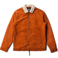 Publish Japhy Woven Jacket In Rust