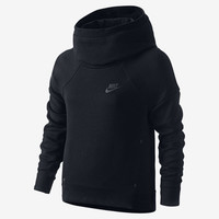 The Nike Tech Fleece Pullover Girls' Hoodie.