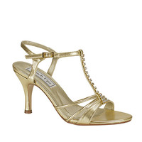 Touch Ups by Benjamin Walk Women's Anneka Shoes Synthetic Gold