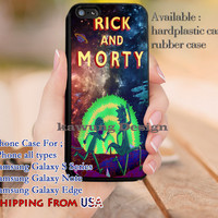 Animated TV Series Rick and Morty iPhone 6s 6 6s+ 5c 5s Cases Samsung Galaxy s5 s6 Edge+ NOTE 5 4 3 #cartoon #animated #RickAndMorty dl9