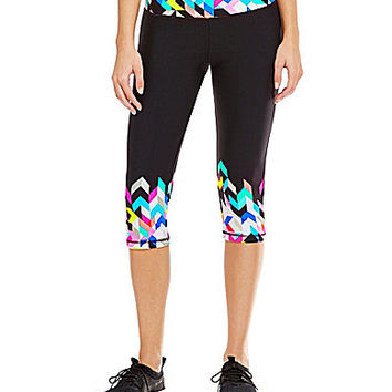 Trina Turk Recreation Kaleidoscope Mid-Length Leggings | Dillards.com