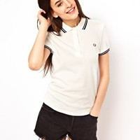 Fred Perry Tipped Polo Shirt at asos.com