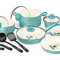 GreenLife Nonstick Ceramic Cookware Set