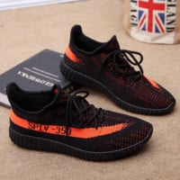 Running Outdoor Yeezy Boost Sneakers Breathable Athletic Sports Shoes