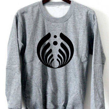 Bassnectar Sweatshirt Bassnectar Sweaters Logo Black White Gray Maroon Unisex Sweaters Tee S,M,L,XL #1